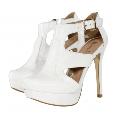 Sandal Boot Iguana Branco