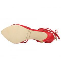 Sandália Salto Alto LB Inspired Vermelho